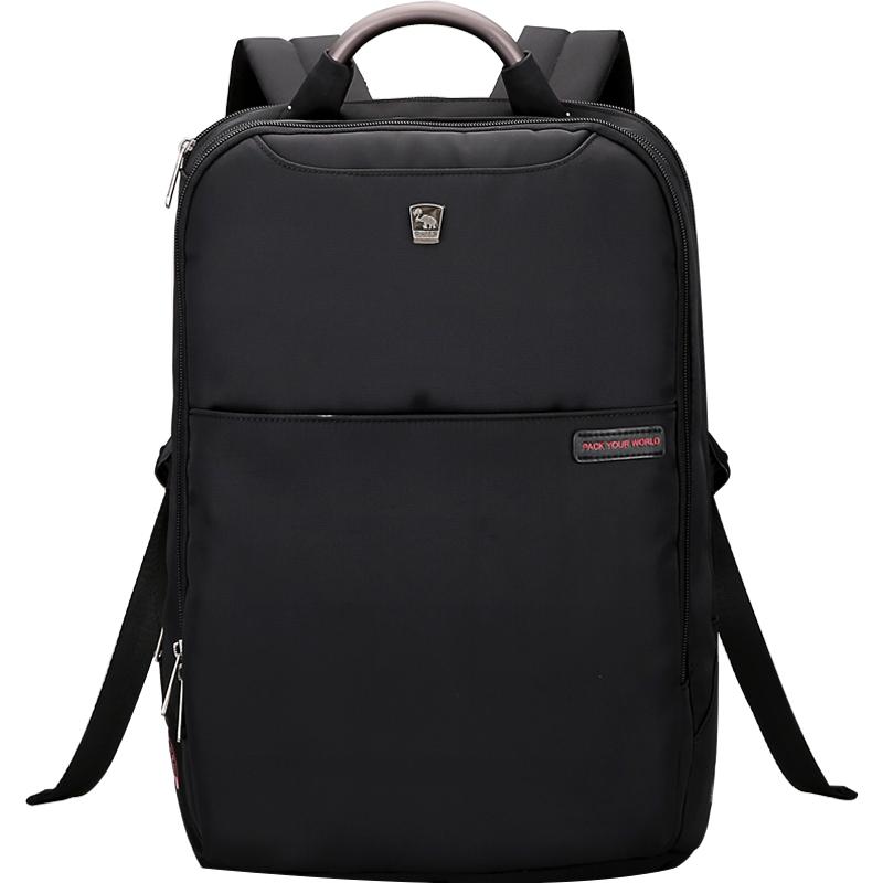 愛華仕鋁合金手提雙肩電腦背包15.6英寸電腦隔層
