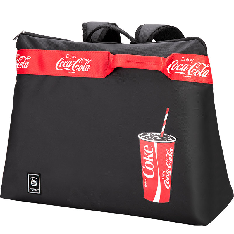 愛華仕x可口可樂聯名款個性潮流手提包