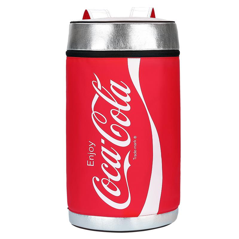 愛華仕x可口可樂聯名款大容量束口水桶書包