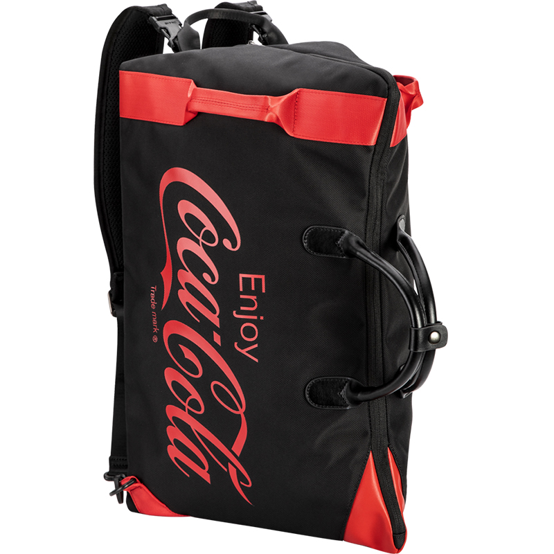 爱华仕x可口可乐联名款休闲手提包旅行袋