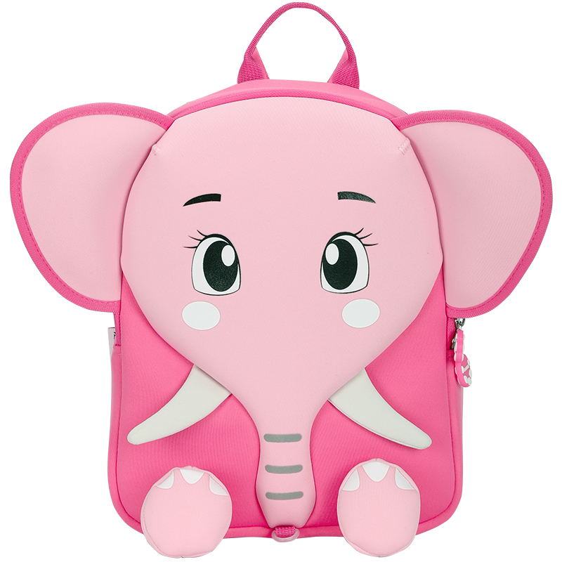 愛華仕小象防走失帶牽引繩可愛幼童雙肩包