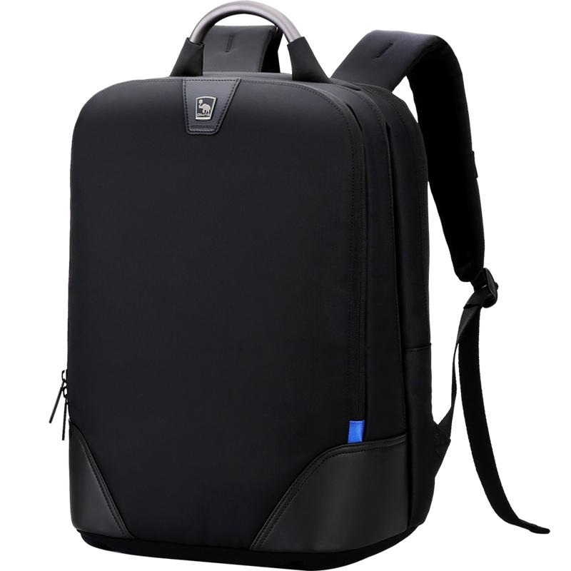 爱华仕防泼水铝合金手提双肩包15.6英寸电脑隔层