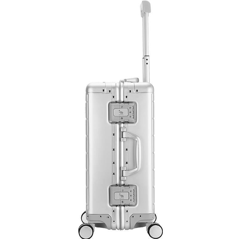 愛華仕航空級鋁鎂合金堅固拉桿箱